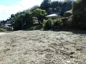 千葉県いすみ市岩船の海が見える売地 広い敷地 房総の別荘用地 大変静かな環境ですよ