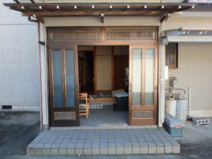 千葉県南房総市上滝田の中古住宅 南房総の不動産 お店付物件 立派な純和風建築です