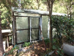 千葉県南房総市千倉町川戸の土地、上物付き 山の中にポツンと一軒家 ボイラー完備で本格的