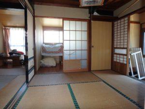 千葉県南房総市和田町仁我浦の中古住宅 南房総の物件 海の近く 4帖半に隣接してSルームです