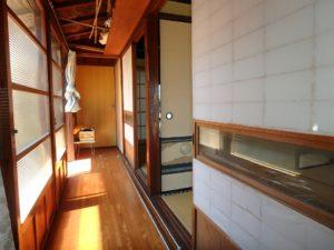 千葉県南房総市和田町仁我浦の中古住宅 南房総の物件 海の近く 南側の縁側廊下