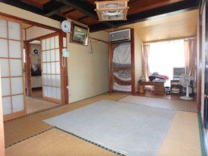 千葉県南房総市和田町仁我浦の中古住宅 南房総の物件 海の近く 北側は増築してますね