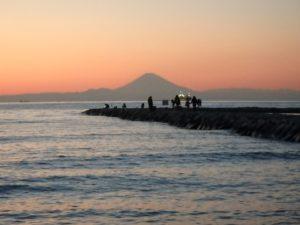 千葉県館山市北条の土地 海近くの物件 移住用地 夕暮れも素敵な環境