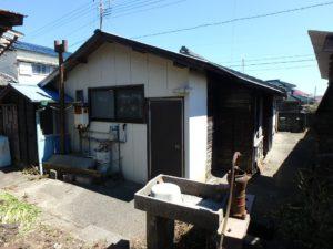 千葉県南房総市和田町仁我浦の中古住宅 南房総の物件 海の近く 敷地西側からです
