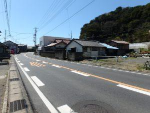 千葉県南房総市和田町仁我浦の中古住宅 南房総の物件 海の近く 接道は国道です