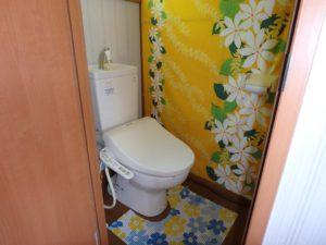 千葉県館山市波左間の別荘物件 南房総の中古住宅 海近くの不動産 水洗トイレ浄化槽処理です