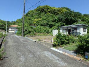 千葉県館山市波左間の別荘物件 南房総の中古住宅 海近くの不動産 先は行き止まりです