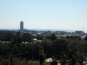 千葉県鴨川市花房の土地 南房総の不動産 鴨川の海が見える物件 肉眼だともっとキレイ