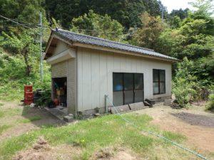 千葉県南房総市和田町上三原の不動産 畑付き中古物件 南房総田舎暮らし 9坪の倉庫があります