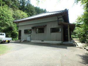 千葉県南房総市和田町上三原の不動産 畑付き中古物件 南房総田舎暮らし 進入路側からです