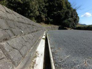 千葉県鴨川市花房の土地 南房総の不動産 鴨川の海が見える物件 雨水対策もできてます