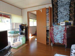 千葉県館山市波左間の別荘物件 南房総の中古住宅 海近くの不動産 きれいな室内ですよ