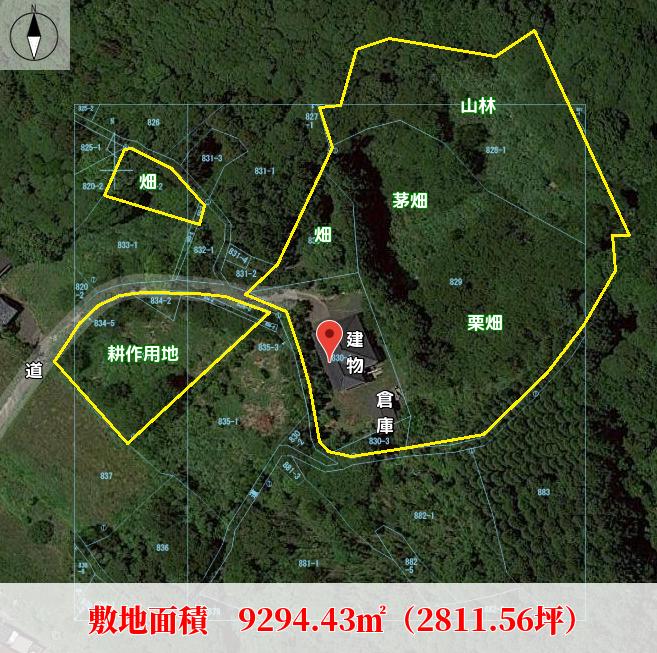 南房総市和田町上三原の物件概略図