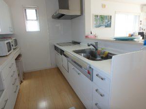 千葉県南房総市白浜町 海一望の物件 海が見える別荘 おしゃれな家 食洗器付きシステムキッチン