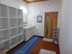 千葉県館山市洲崎のマンション 海が見える物件 リゾート別荘 浴場の脱衣室