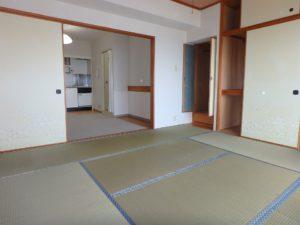 千葉県鴨川市東江見のリゾートマンション、鴨川の不動産、南房総の海が見える物件 海の拠点ならこの間取で十分