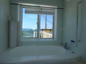 千葉県南房総市白浜町 海一望の物件 海が見える別荘 おしゃれな家 もちろんここからも海