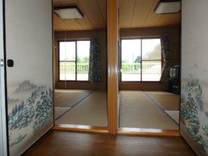 千葉県安房郡鋸南町下佐久間の別荘 南房総の不動産 果樹生活 田舎暮らし 2階は和室が4部屋