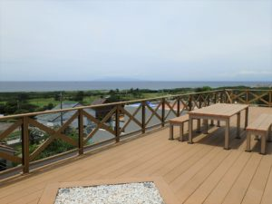 千葉県館山市坂井の豪華高級別荘 海一望の物件 館山の海が見える中古 驚嘆する開放的海の眺望