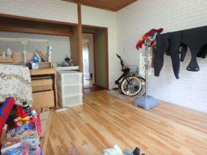 千葉県館山市洲崎のマンション 海が見える物件 リゾート別荘 元は和室でした