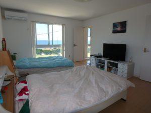 千葉県南房総市白浜町 海一望の物件 海が見える別荘 おしゃれな家 目覚めに海を見る