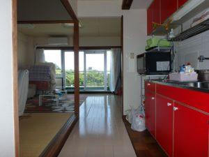千葉県館山市洲崎のマンション 海が見える物件 リゾート別荘 北側に行って見ます