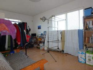 千葉県南房総市白浜町 海一望の物件 海が見える別荘 おしゃれな家 西側の部屋です