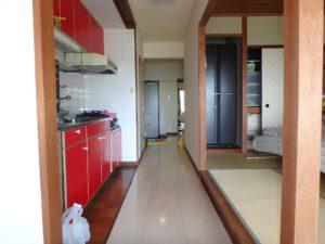 千葉県館山市洲崎のマンション 海が見える物件 リゾート別荘 廊下を挟んで和室