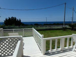 千葉県南房総市白浜町 海一望の物件 海が見える別荘 おしゃれな家 ドッグランにもいいかも