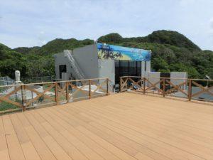 千葉県館山市坂井の豪華高級別荘 海一望の物件 館山の海が見える中古 イルカのラッピングが印象的