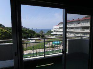 千葉県館山市洲崎のマンション 海が見える物件 リゾート別荘 こんな感じです