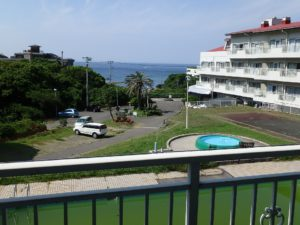 千葉県館山市洲崎のマンション 海が見える物件 リゾート別荘 景色良いですね