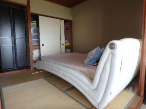 千葉県館山市洲崎のマンション 海が見える物件 リゾート別荘 和室は4帖半