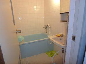 千葉県館山市洲崎のマンション 海が見える物件 リゾート別荘 浴室は二点式