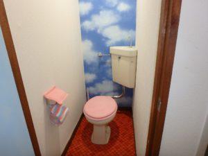 千葉県館山市洲崎のマンション 海が見える物件 リゾート別荘 トイレのようす