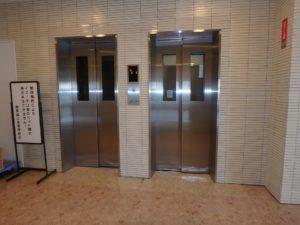 千葉県鴨川市東江見のリゾートマンション、鴨川の不動産、南房総の海が見える物件 エレベーターは2基稼働