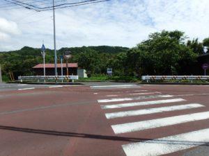 千葉県南房総市上滝田の不動産 房総の土地 三芳村の物件 二つの県道沿い