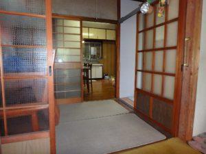 千葉県館山市の不動産 中古住宅 海が見える物件 田舎暮らし 中央のホール部です