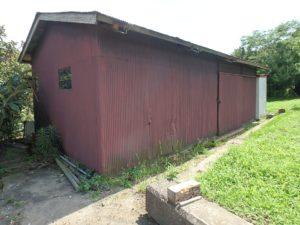 千葉県南房総市上滝田の不動産 房総の土地 三芳村の物件 古い倉庫付きです