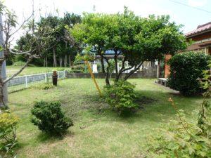 千葉県館山市の不動産 中古住宅 海が見える物件 田舎暮らし 庭造りも楽しめる広さ