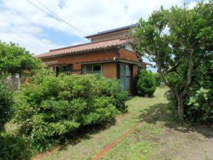 千葉県館山市の不動産 中古住宅 海が見える物件 田舎暮らし 東側を見てみましょう