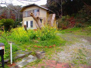 千葉県館山市布沼の不動産 アトリエ別荘 中古物件 前の住人の提供画像