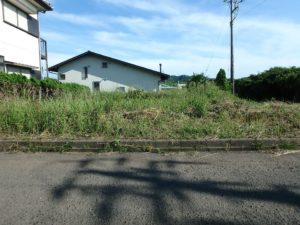 千葉県館山市佐野の不動産 別荘用地 南房総の海物件 海側の角地です