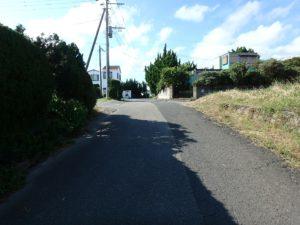 千葉県館山市佐野の不動産 別荘用地 南房総の海物件 近隣はペンションなども