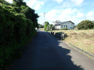 千葉県館山市佐野の土地 別荘向き不動産 道路の状態良好です