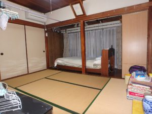 千葉県館山市長須賀の中古住宅 館山の不動産 最北側の和室6帖と広縁