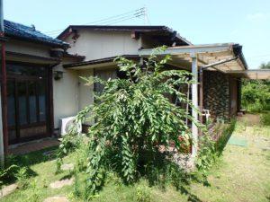 千葉県館山市長須賀の中古住宅 館山の不動産 建物は2棟を中で繋げました