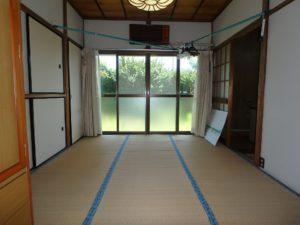 千葉県館山市長須賀の中古住宅 館山の不動産 隣接する和室は6帖
