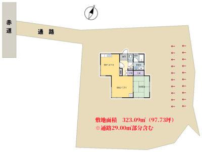 売別荘 館山市館山 1LDK+ロフト 400万円 物件概略図