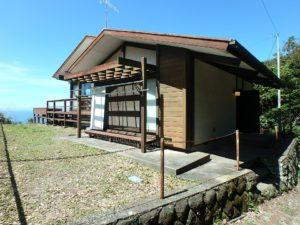千葉県安房郡鋸南町下佐久間の不動産 アルカディアの物件 海一望の別荘 豪快な海の眺望に富士見の物件
